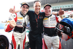 Yarış galibi #88 AKKA ASP Mercedes AMG GT3: Tristan Vautier, Felix Rosenqvist, Jérôme Policand, AKKA ASP Team owner