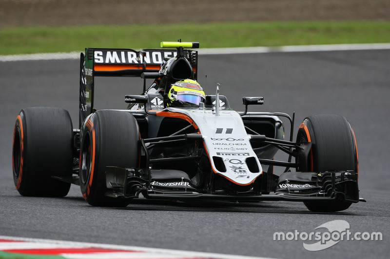 7. Sergio Perez, Sahara Force India F1 VJM09