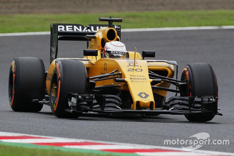 14. Kevin Magnussen, Renault Sport F1 Team RS16