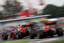 Daniel Ricciardo, Red Bull Racing RB12 y Max Verstappen, Red Bull Racing RB12