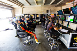 Erebus Motorsport Holden garage atmosphere