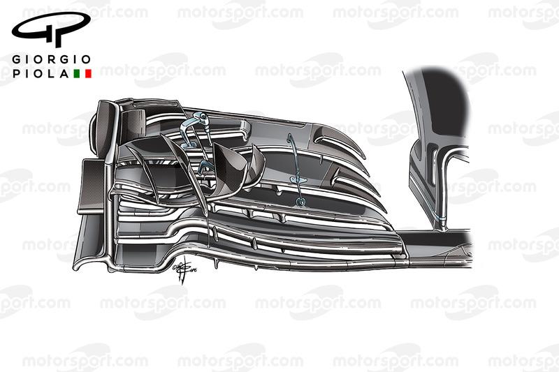 McLaren MP4/31 nieuwe voorvleugel, Japan