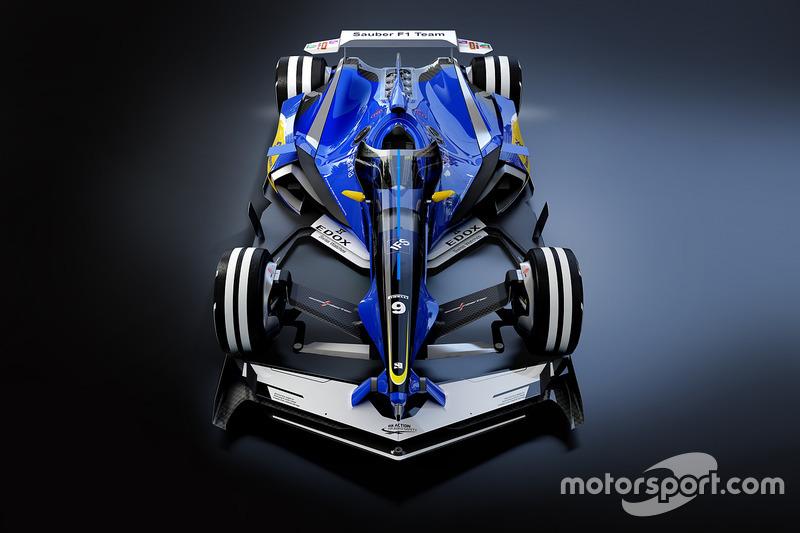 تصميم مستقبلي لسيارة ساوبر  في 2030