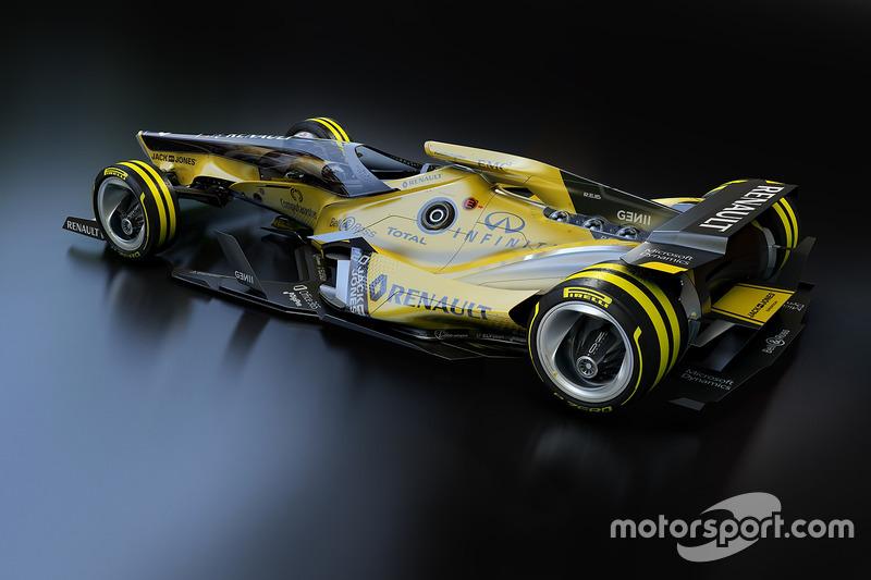 雷诺F1车队2030年幻想设计