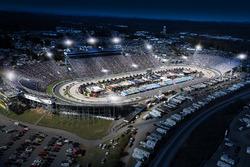 Martinsville Speedway mit LED-Flutlichtanlage