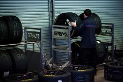 BMW Team SRM Testtag