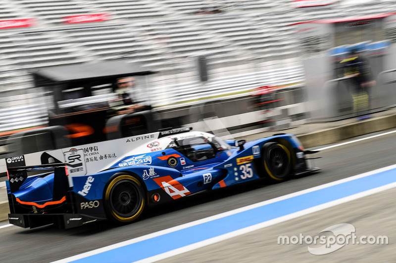 11. LMP2: #35 Alpine A460 - Nissan: David Cheng, Ho-Pin Tung, Paul Loup CHatin