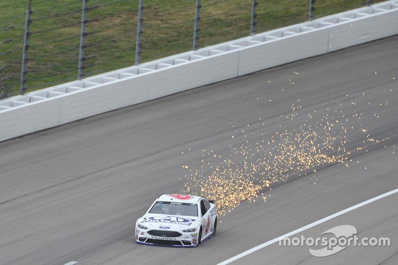 NASCAR, Kansas City 2016: Trevor Bayne, Roush Fenway, Ford Fusion