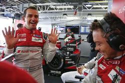 Oliver Jarvis, André Lotterer, Audi Sport Team Joest, Dr. Wolfgang Ullrich, Head of Audi Sport