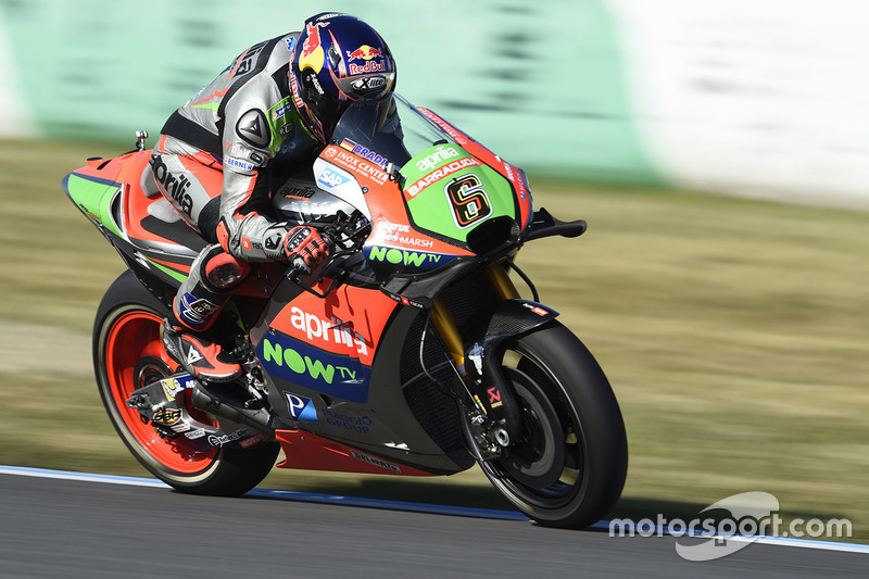 10. Stefan Bradl, Aprilia Gresini Racing Team