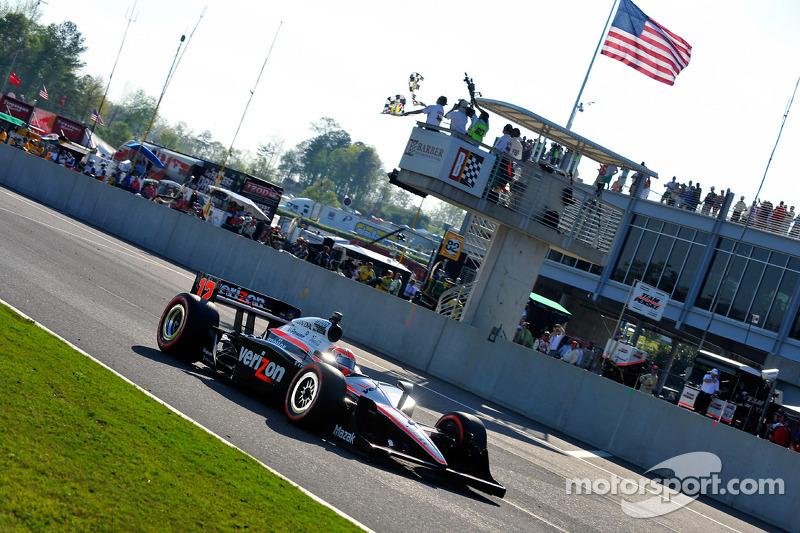 Will Power, Team Penske takes the checkered flag