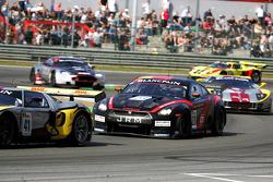 Michael Krumm, Lucas Luhr ; Nissan GT-R ; JR Motorsport
