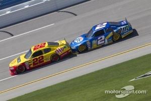 Kurt Busch, Penske Racing Dodge, Brad Keselowski, Penske Racing Dodge