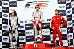 Podium from left: Wil Bratt, Mirko Bortolotti and Miki Monras