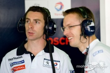 Simon Pagenaud and Sébastien Bourdais