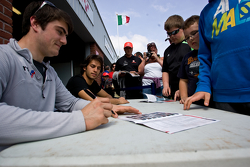 Jack Harvey and Felipe Nasr
