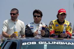 Alex Tagliani, Oriol Servia and Andrew Ranger