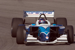 Paul Tracy lapping the California Speedway infield road course