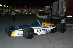 Rodolfo Lavin's spare car (in Mexico City colors) gets drafted into service