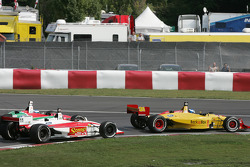 Start: Ryan Hunter-Reay, Bjorn Wirdheim and Ricardo Sperafico