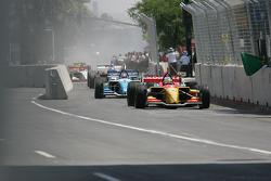 Champ Car pits