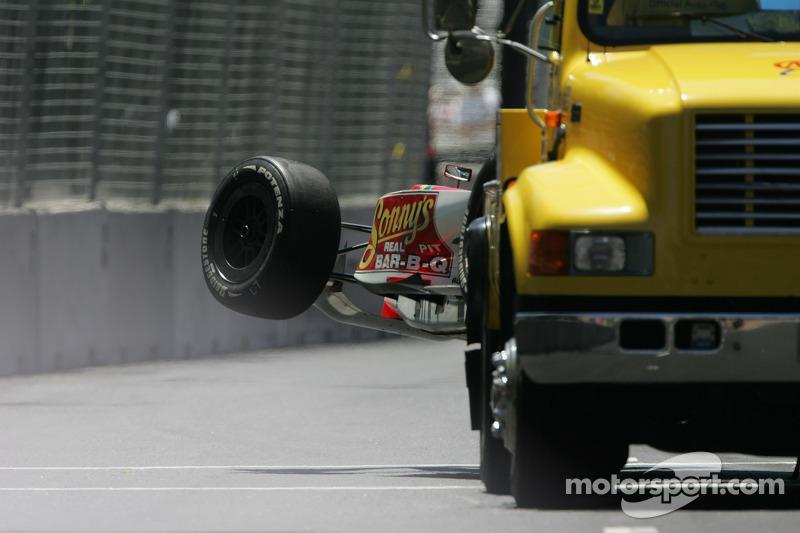 Ricardo Sperafico on the wrecker