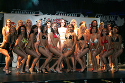 The swimsuit competition: group shot