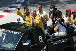 Parade des pilotes : Timo Glock
