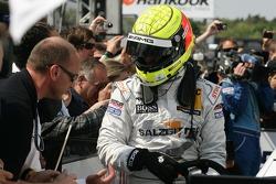 Third place Ralf Schumacher, Team HWA AMG Mercedes, AMG Mercedes C-Klasse