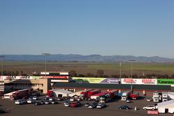 Infineon Raceway paddock