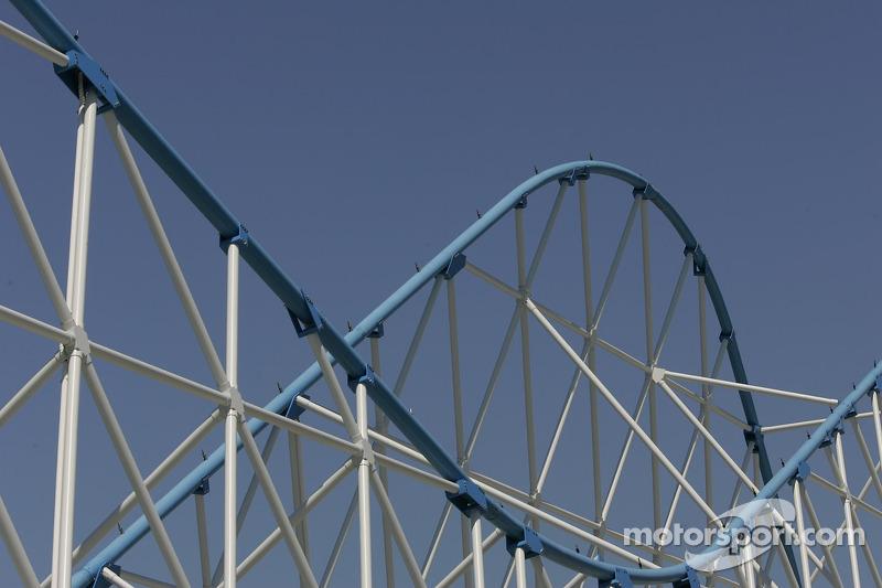 Pike Roller Coster Bridge