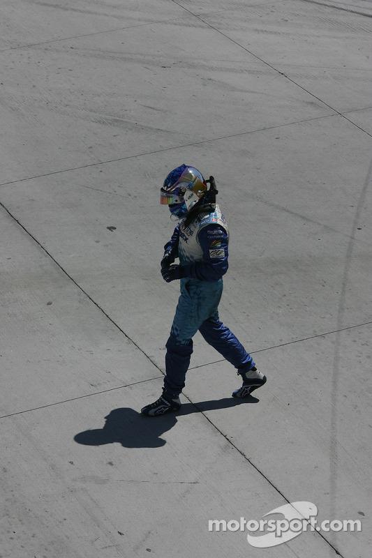 Départ: course terminée pour Paul Tracy