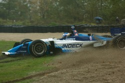 Paul Tracy off track
