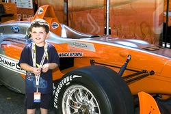 Aspiring driver with the new 2007 Panoz DP01 chassis