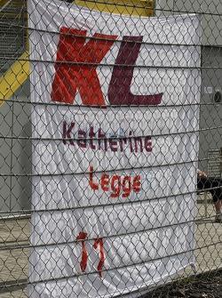 Message for Katherine Legge