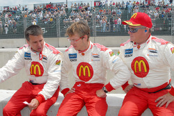 Craig Hampson, Sébastien Bourdais and Mike Hartgraves