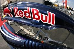 Detail of the PKV Racing car of Neel Jani