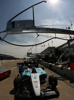 Newman/Haas/Lanigan Racing pit preparation