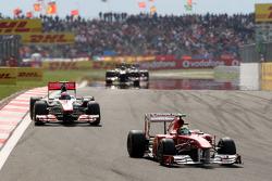 Felipe Massa, Scuderia Ferrari, F150, Jenson Button, McLaren Mercedes