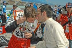 Dan Wheldon and Dario Franchitti