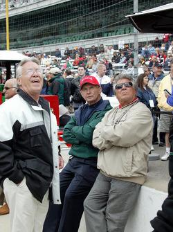 Aldo Andretti, Parnelli Jones and Mario Andretti