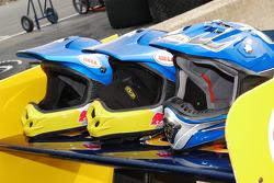 Crew helmets