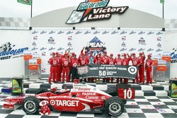 Victory lane: Team Ganassi celebrates its 50th win