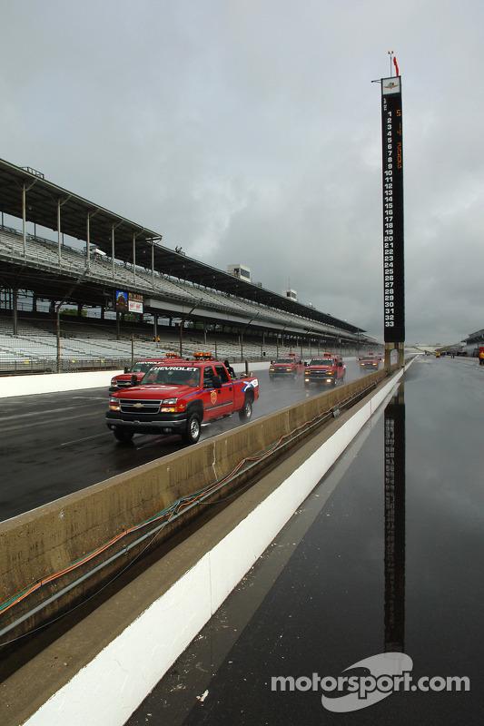 Un autre jour de pluie à Indy