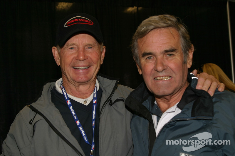 Parnelli Jones and Al Unser Sr.