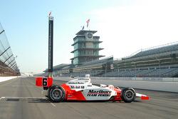 The 2006 Indy 500 winning car