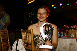Amy Konrath receives the Achievement of the Year Award