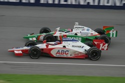 Jeff Bucknum and Tony Kanaan