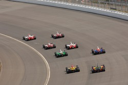 Helio Castroneves leads the field