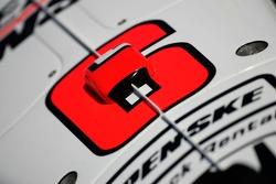 Detail of the Team Penske Dallara